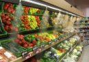 Zöldség és húspult frissen tartás