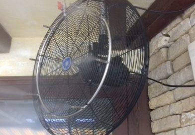 Teraszhűtő ventilátor
