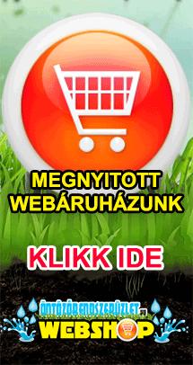 Öntözőcentrum webáruház